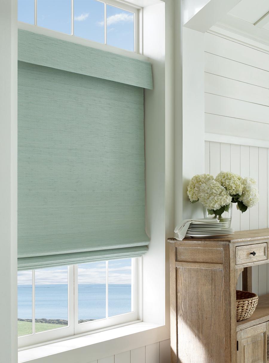 provenance woven wood shades coastal decor design ideas Hunter Douglas Austin 78758