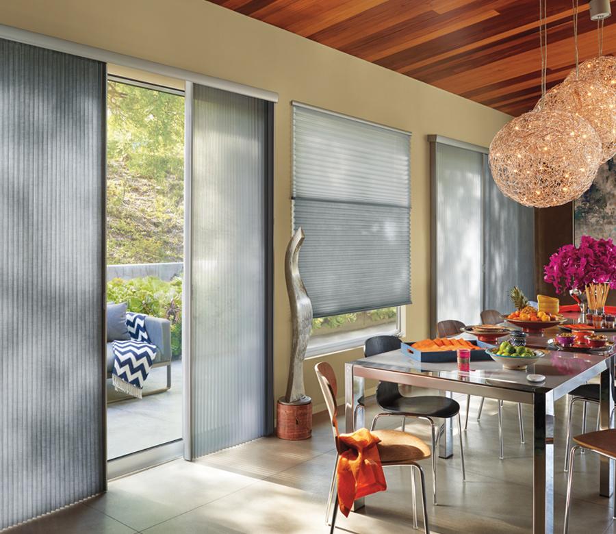 cellular shades for vertical doors Austin TX