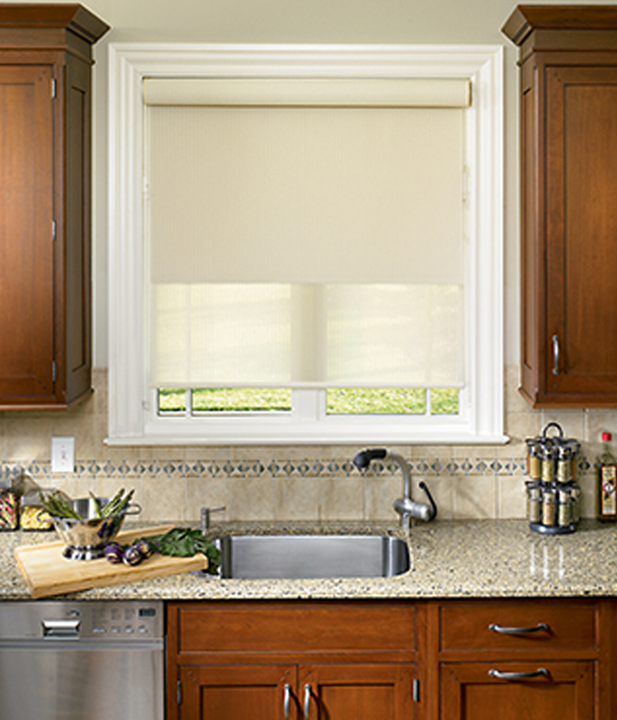 kitchen designer roller shades Hunter Douglas Austin 78758