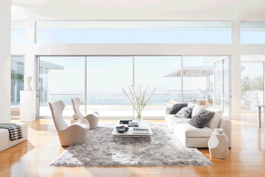 minimalism Hunter Douglas Leander 78641