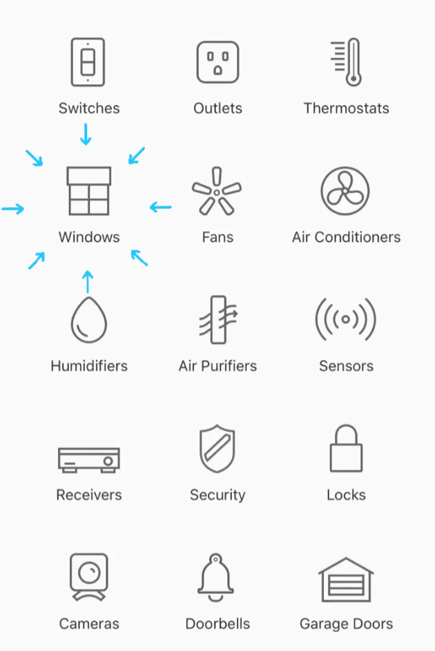 apple homekit list of approved accessories with Hunter Douglas motorized shades Austin TX