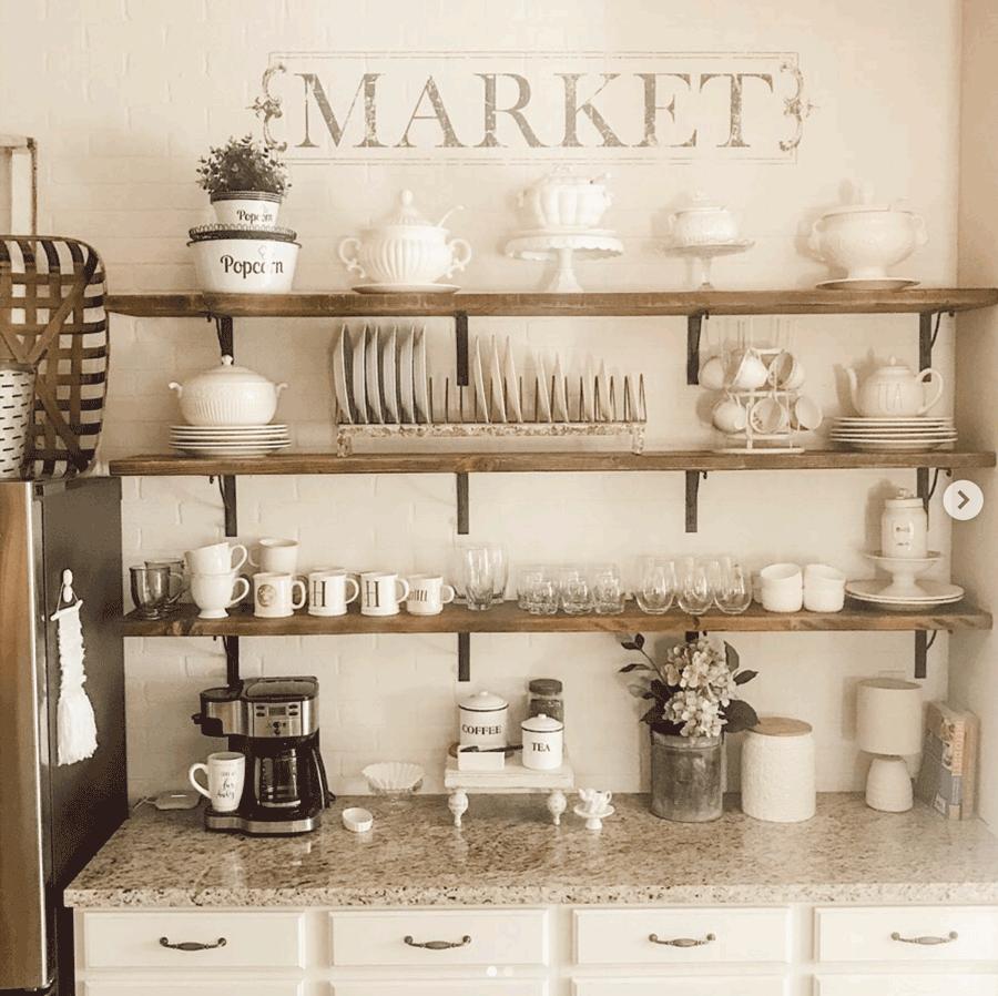kitchen white decor farmhouse style statements white on white austin