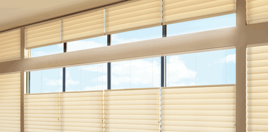 Top down shades to cut the glare in Austin home