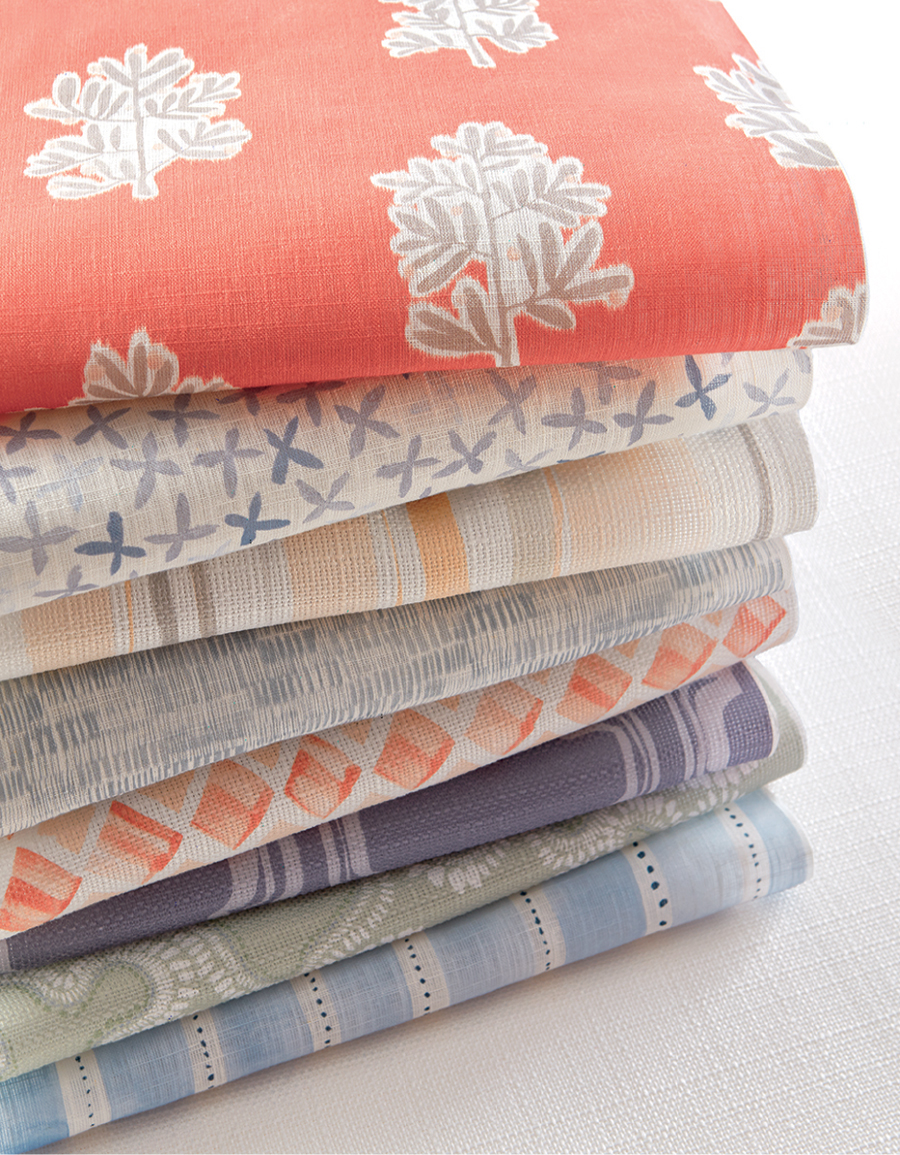 Rebecca Artwood's fabrics bring a new style to your home.
