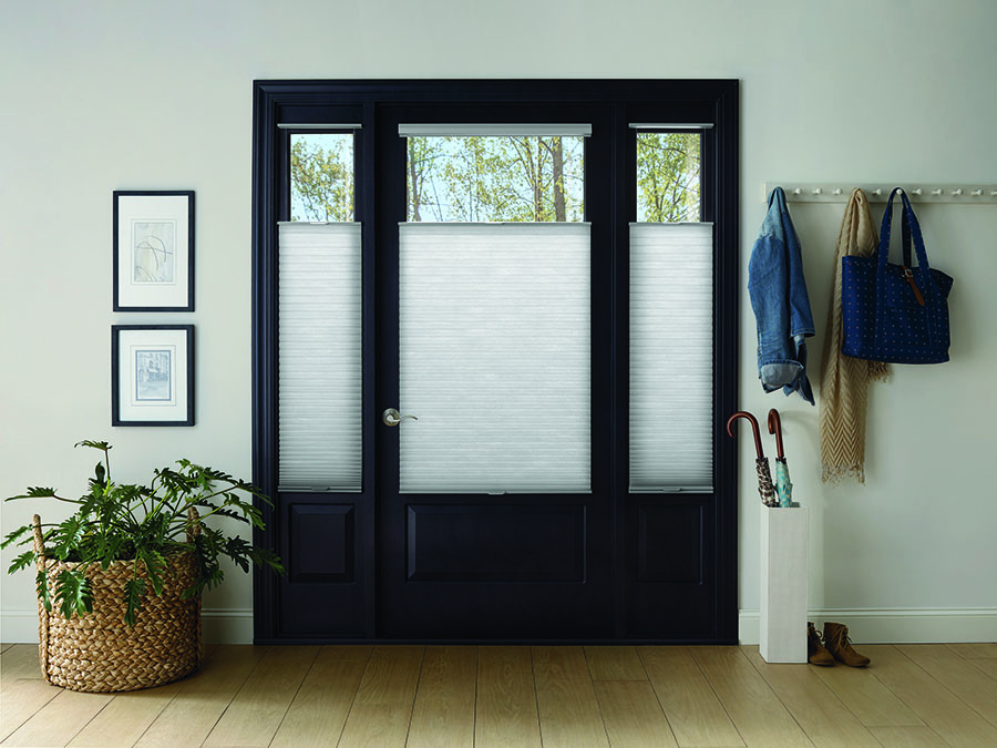 Window coverings made for glass doors add privacy