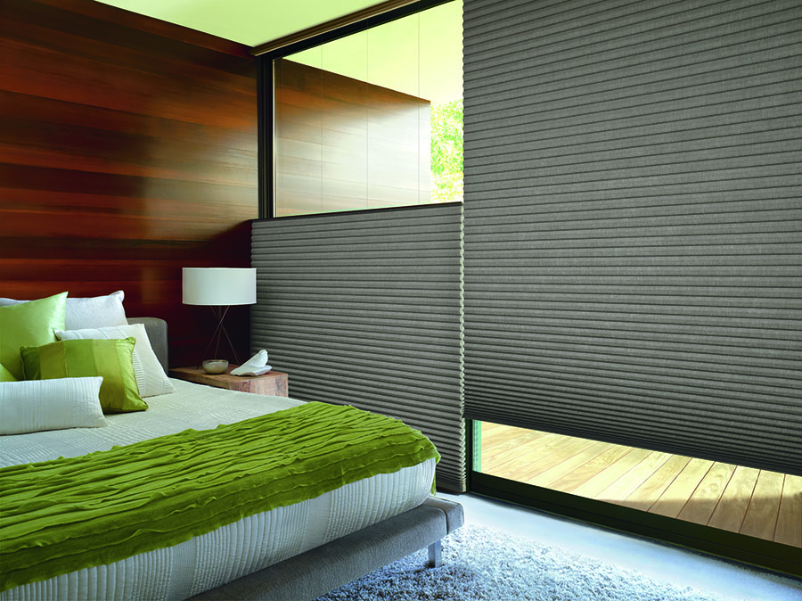 Top-dow bottom-up shades offer home protection for your bedroom