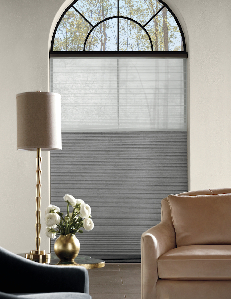 Cellular shades for optimal window lighting control.