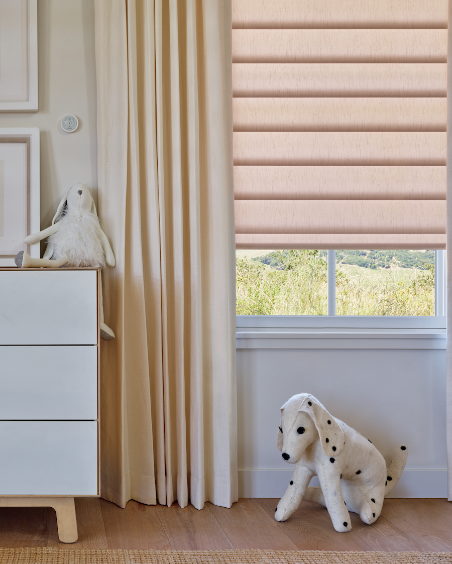 PowerView® technology allows for complete motorization of shades.