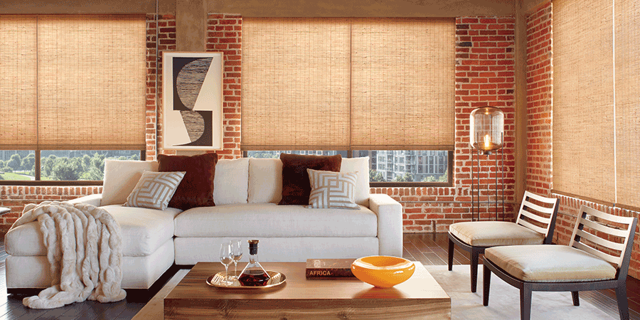 Naturally modern design with provenance woven woods Hunter Douglas Austin 78758