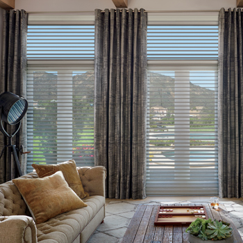 find floor to ceiling window covering solutions for your Austin TX home