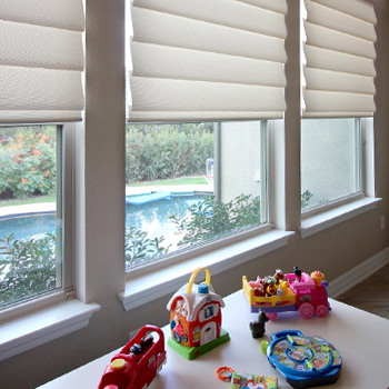 no cords on child safe blinds Austin TX