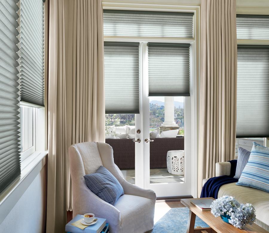 austin window fashions hunter douglas duette honeycomb shades Austin 78731