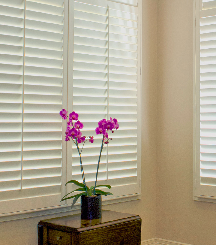 insulated window shades and energy saving plantation shutters Austin TX