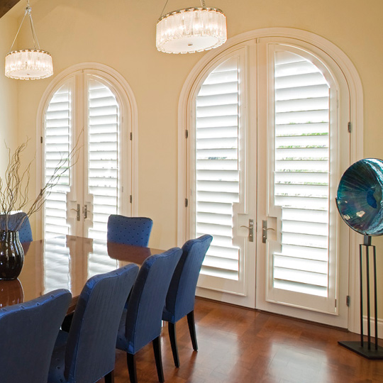 arched window shutters for french door specialty shapes Leander 78641