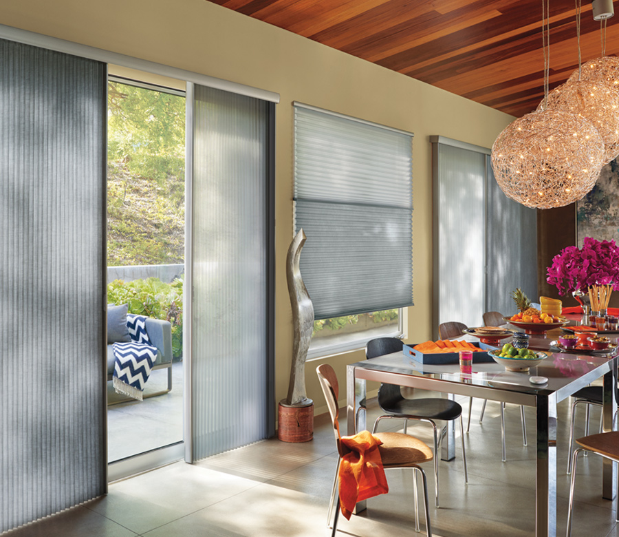 cellular shades for vertical doors Austin TX