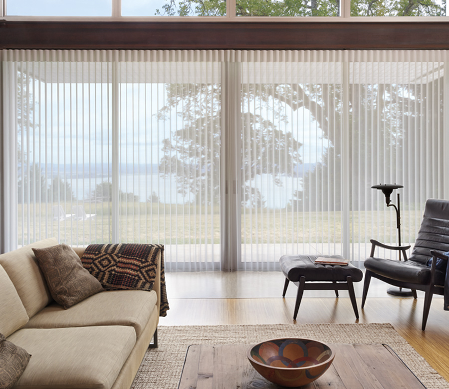 luminette privacy sheers the new vertical blinds for sliders Austin TX