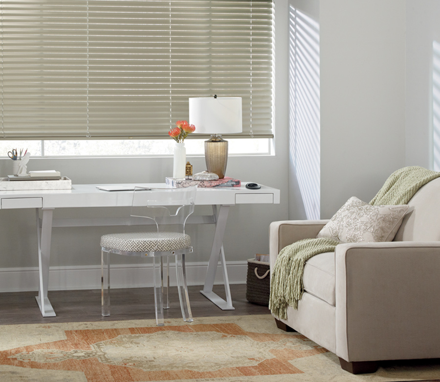 soft gold metal blinds Austin TX