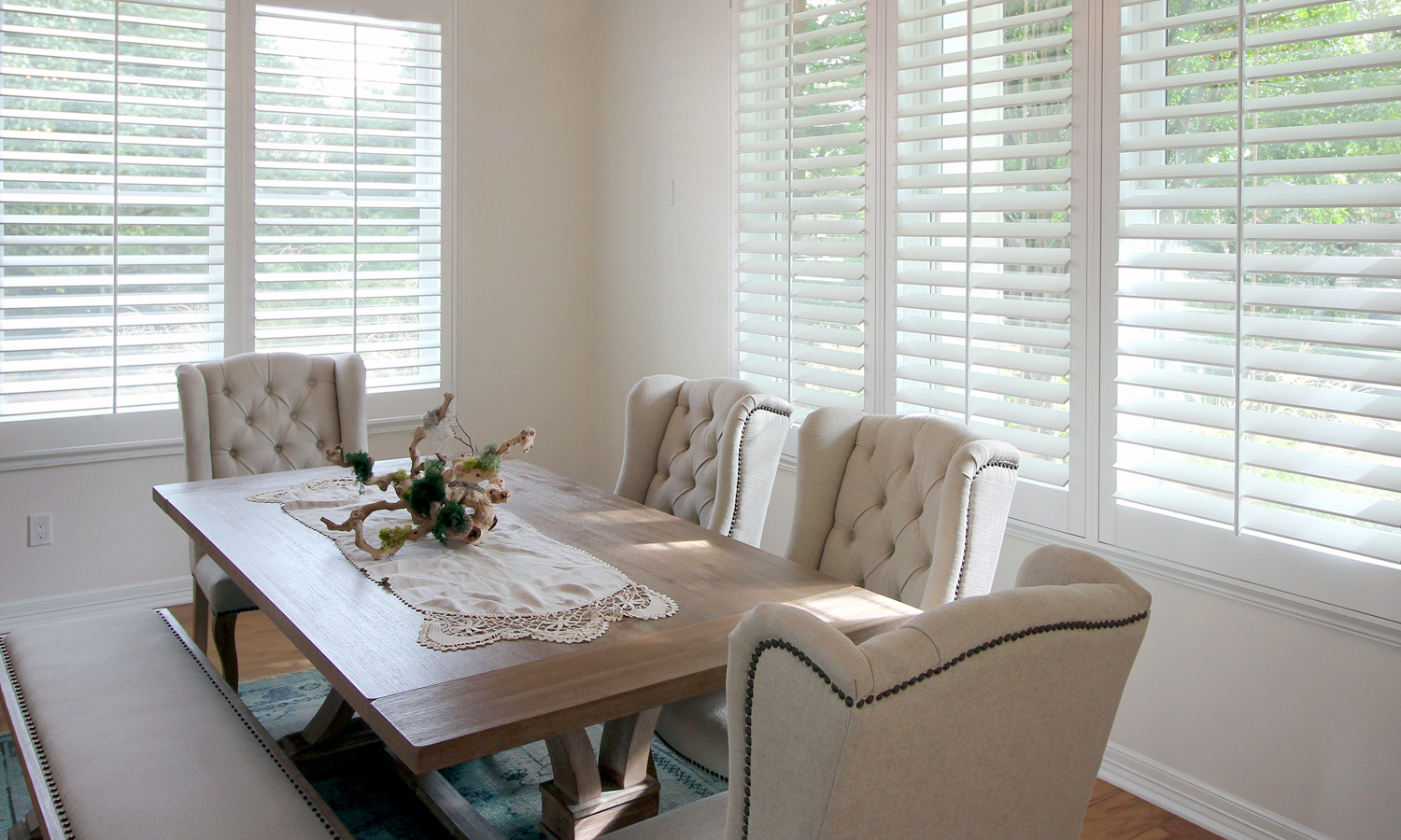 Custom Shutters Our Work