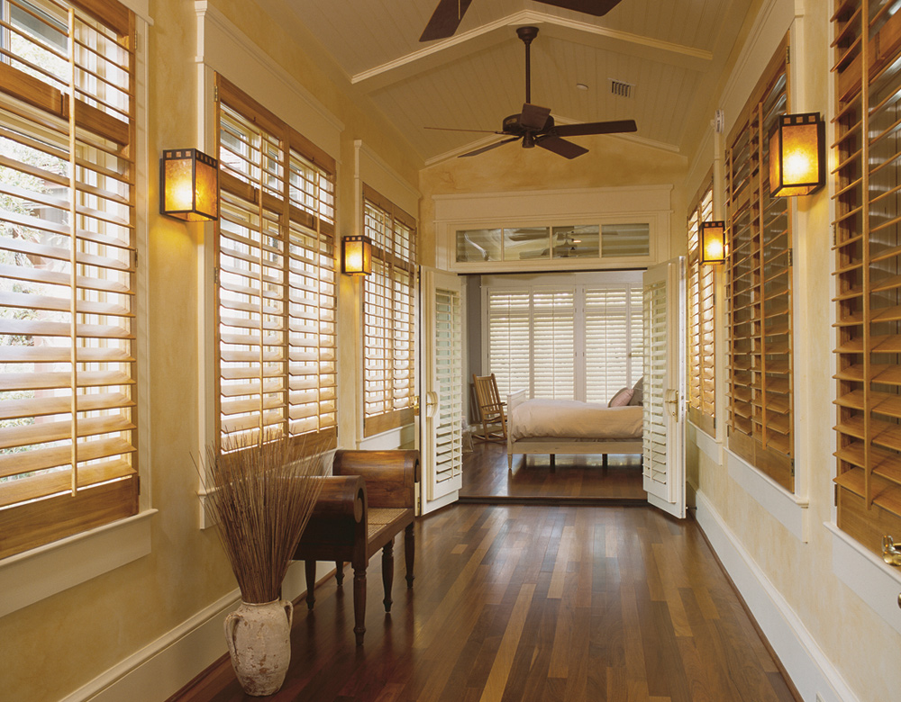 foyer with interior window shutters Cedar Park 78613