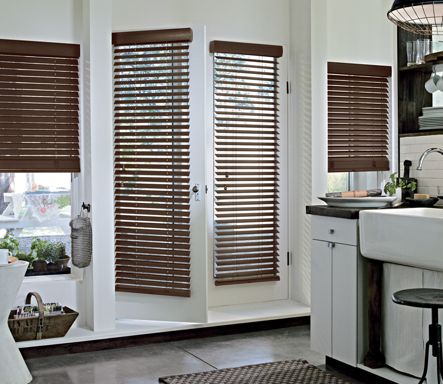 Hunter Douglas wood blinds for french doors Cedar Park 78613