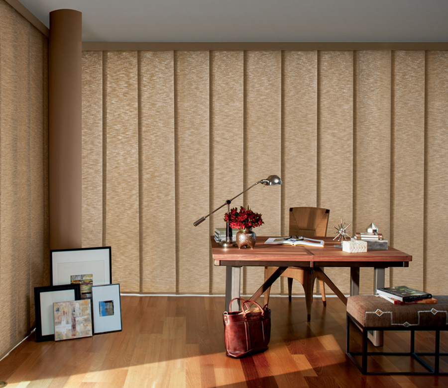 Panel Track Blinds Skyline Gliding Austin Window Fashions