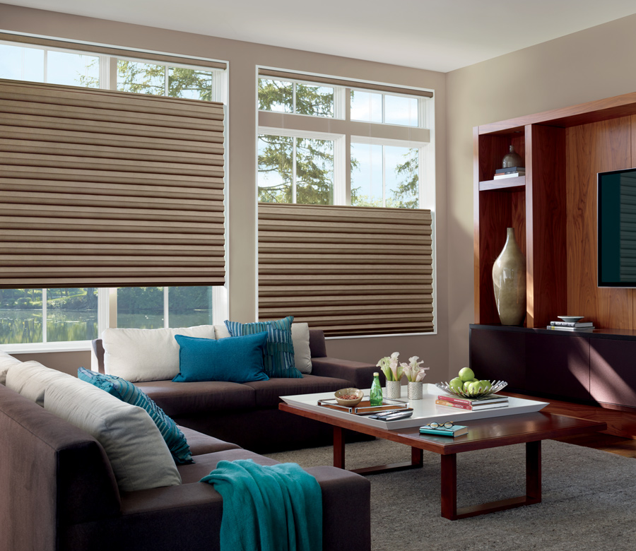 solera soft fabric roman shades Hunter Douglas Austin 78758