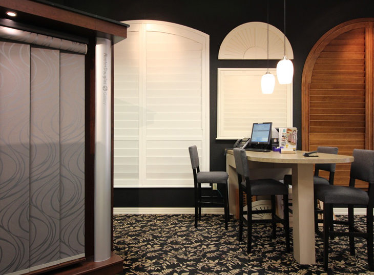 window treatment showroom Hunter Douglas Austin 78758