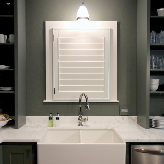 best bathroom window treatments energy efficient plantation shutters Austin 78738