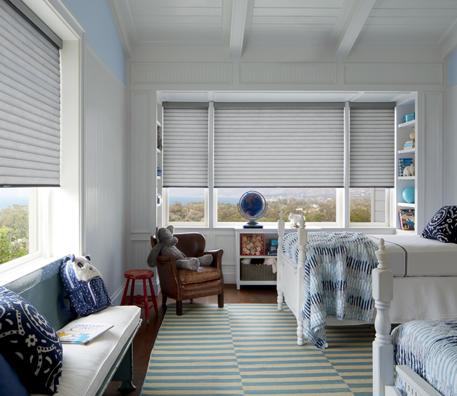 kids bedroom sonnette shade Hunter Douglas Austin 78758