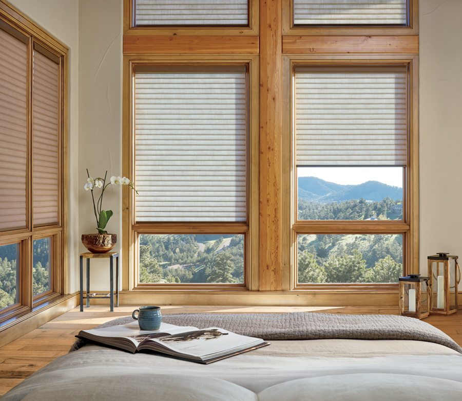 bedroom sonnette shade Hunter Douglas Austin 78758