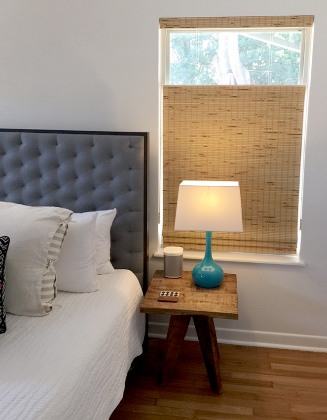 bedroom provenance woven wood shades recent work done by Austin Window Fashions 78758