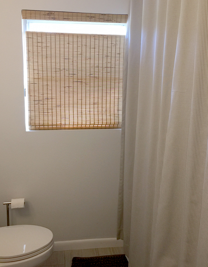 bathroom provenance woven wood shades recent work done by Austin Window Fashions 78758
