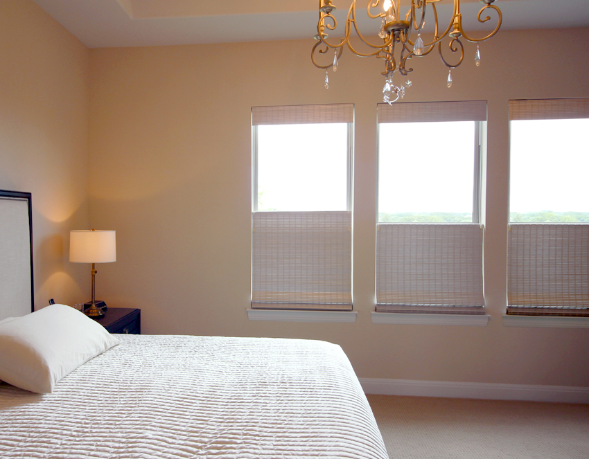 bedroom top down bottom up provenance woven wood shades recent work done by Austin Window Fashions 78758