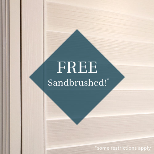 free upgrade sandbrushed plantation shutters Austin 78758
