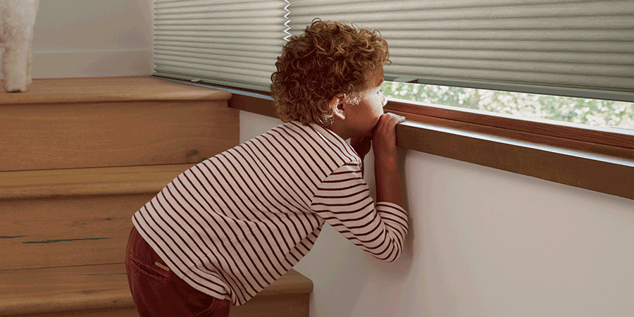 child safety with motorized blinds Austin TX