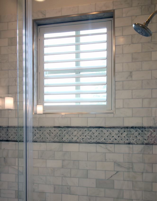 bathroom shower plantation shutters Leander 78641