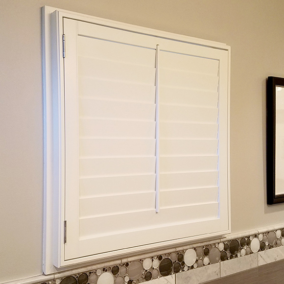 premium design choices painted wood shutters Austin TX