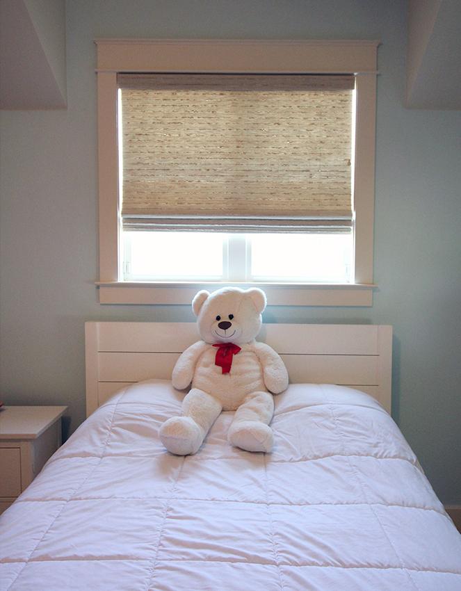 child bedroom hunter douglas provenance woven wood shades Austin