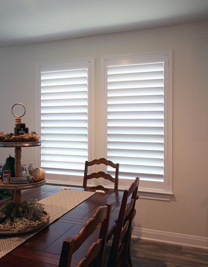 dining room plantation shutters Cedar Park 78613