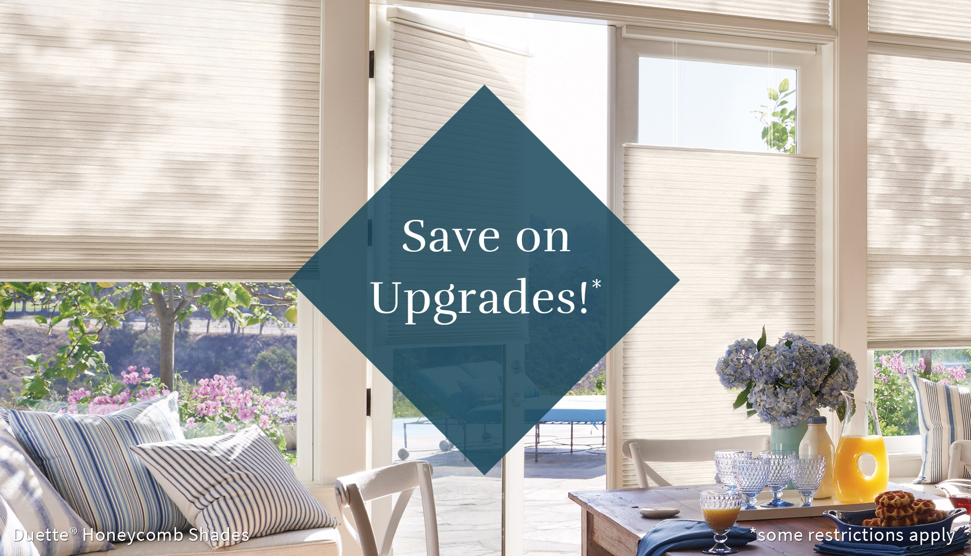 free upgrades Hunter Douglas window treatments on sale Austin 78758