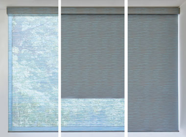 duolite dual shades for screen shades with room darkening all in one window Austin, TX