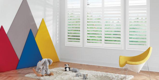 Austin, TX window treatments safe for children.