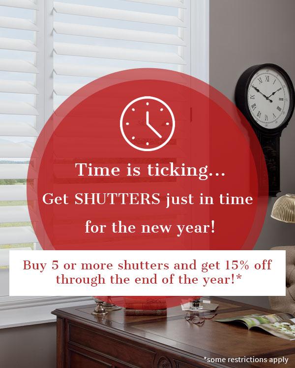 shutters on sale in Austin TX