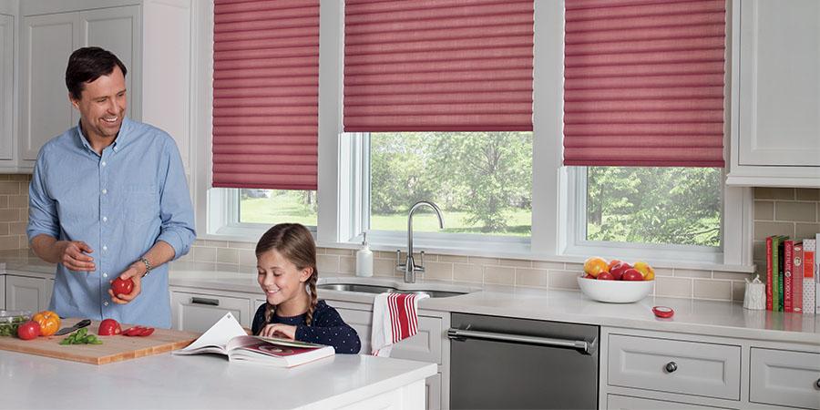 kitchen window shades in Austin, TX