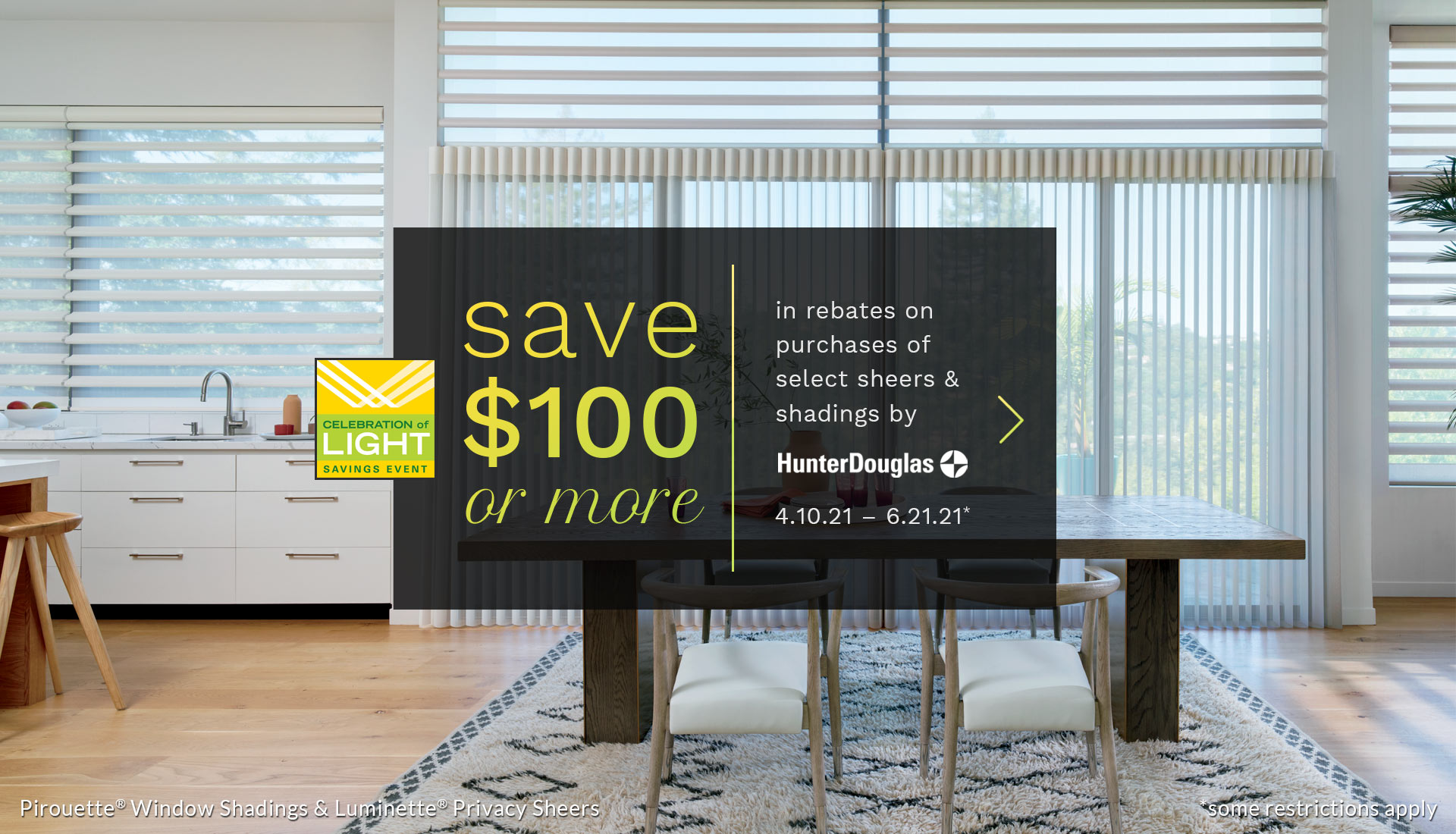 promotions and sales on window coverings in Austin TX