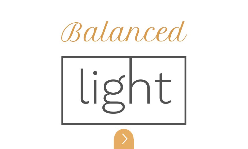 balanced lighting