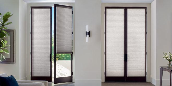 custom door coverings for french doors in Austin TX